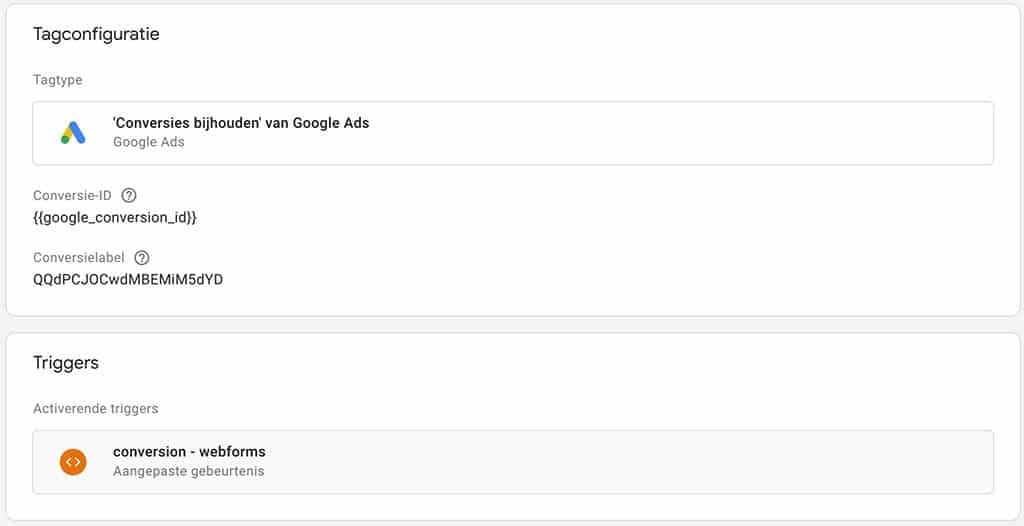hubspot google ads tag