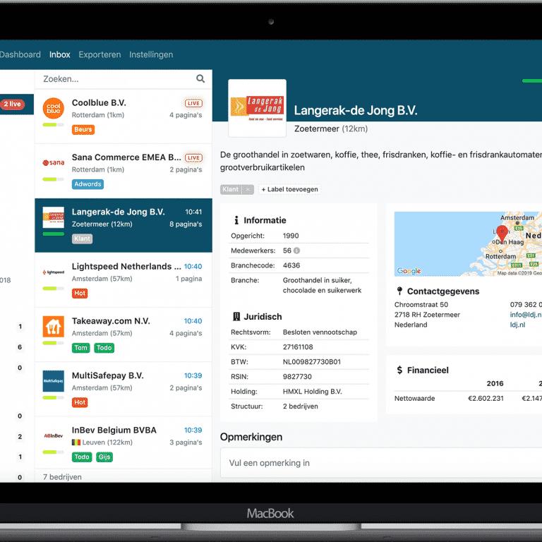 Tool review: LeadInfo - Herken zakelijke bezoekers